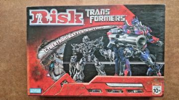Risk Transformers Cybertron Battle Edition (New)